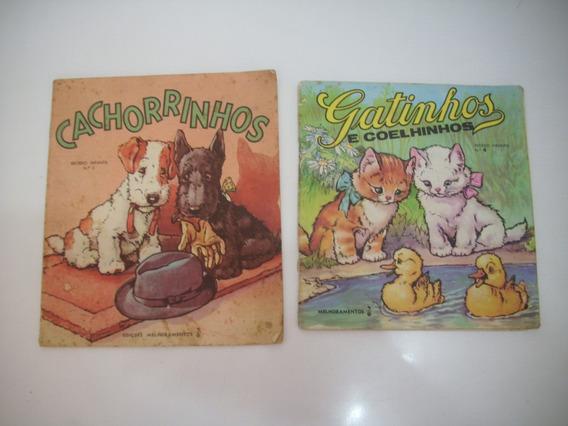 Coleção Com 2 Livrinhos De Histórias Infantis - Anos 70