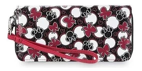 Carteira Feminina Minnie Disney Original C/ Bolsa P/ Celular