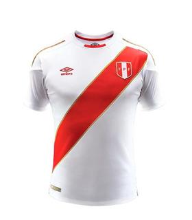 Camiseta 2018 Original Umbro Perú Mundial Bolsa Sellada !!
