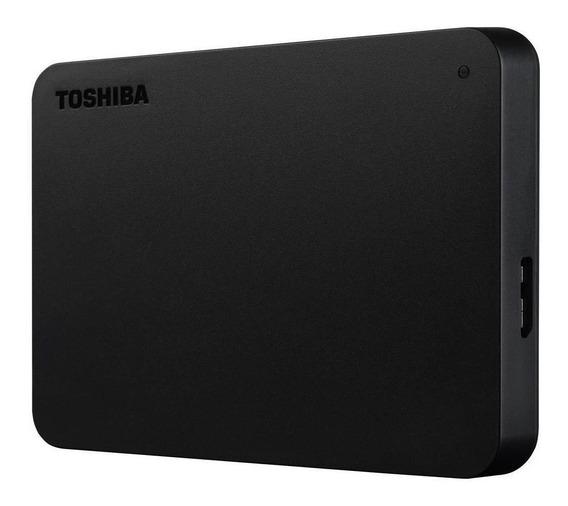 Hd Portátil 1tb Toshiba Canvio Basics Usb 3.0 - Hdtb410xk3aa