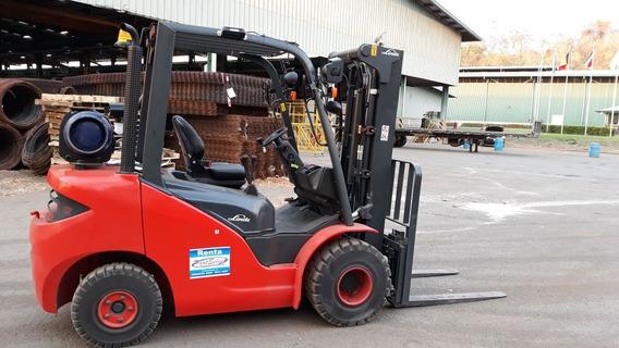 Montacargas Linde H25t 2.5 Ton. Gas Lp Oportunidad!!!!!