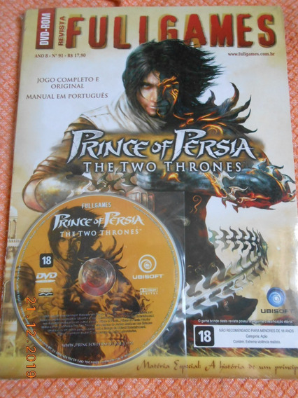 Prince Of Persia Two Thones ( Game Pc ) Fullgames & Lacrado