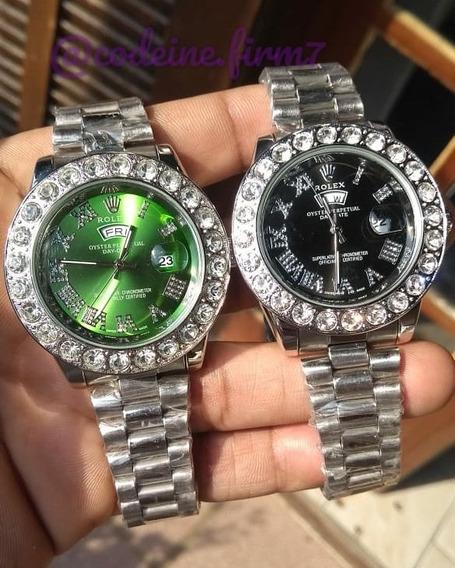 Rolex Cravejado