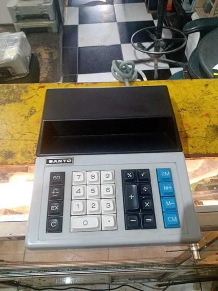 Calculadora Antiga Reliquea Sanyo Revisada Funcionando Ol