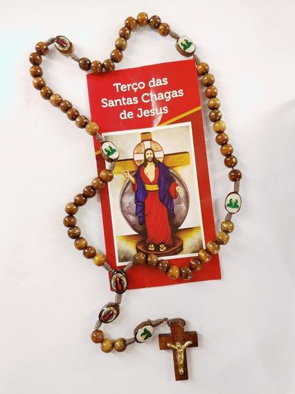 Terço Das Santas Chagas De Jesus Com Novena De Brinde