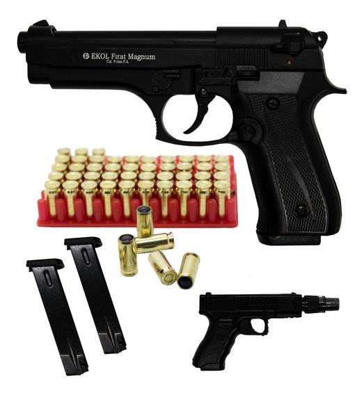 Pistola Traumática Ekol® Firat Magnum Beretta Con 50 Balas