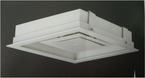 Plafon Embutir Luz Indireto Luxo 40x40 - Com Lâmpadas