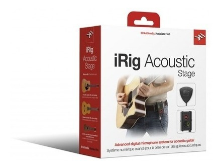 Sistema Captador Digital Ik Multimedia Irig Acoustic Stage