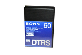 Sony Fita Audio Digital Hi8 Dtrs Dars-60mp 60 Minutos Kit 10