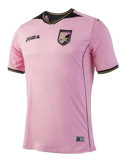 Camiseta De Futbol Joma Palermo Italia Titular Rosa
