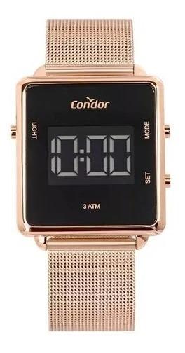 Relógio Condor Feminino Digital Cobjf156ac/4j Rose Lançament