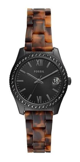 Relógio Feminino Fossil Scarlette Preto - Original