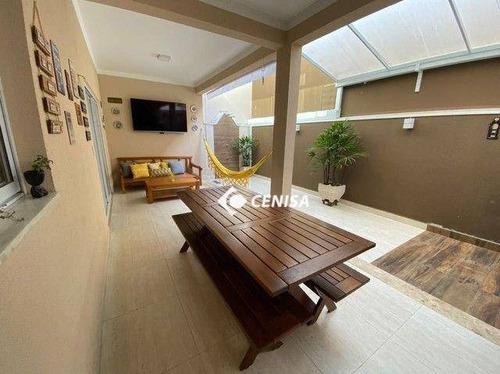 Imagem 1 de 22 de Casa Com 3 Dormitórios À Venda, 167 M² - Condomínio Montreal - Indaiatuba/sp - Ca2655