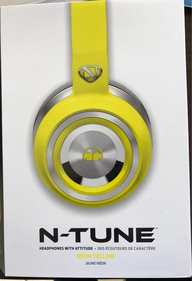 Fone Monster Ntune Neon Yellow Original (headphone)
