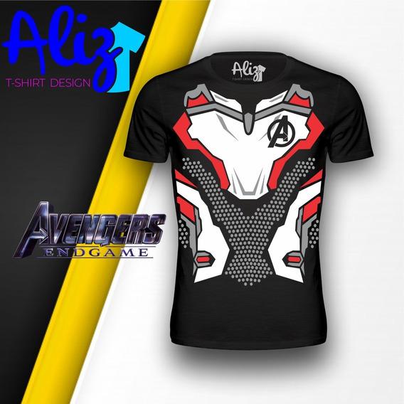 Playera Quantum Suit Traje Cuantico Avengers Endgame