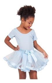 Roupa Tutu/tule Fita Ballet Bailarina Saia + Collant
