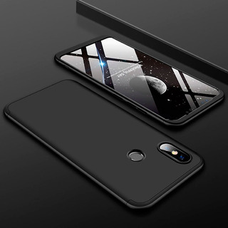 Kit Capa Case Proteção 360º Anti Impacto + Pelicula Vidro Temperado Xiaomi Mi 8 Lite Varias Cores