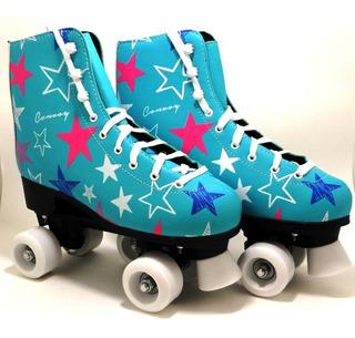 Patins Tradicional Infantil Roller Have Fun Estrelas- Convoy