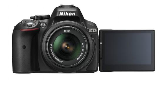 Nikon D5300 Lente 18-55 + Memoria 16gb + Bolso + Garantia