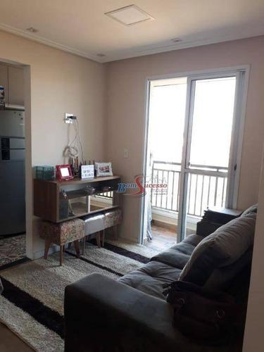 Apartamento Com 2 Dormitórios À Venda, 45 M² Por R$ 320.000,00 - Jardim Imperador - São Paulo/sp - Ap2311