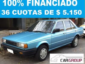 Nissan Sunny 92 100% Financiado En 36 Cuotas De $ 5.150.-
