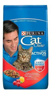 Cat Chow Adultos Activos Carne X 3 Kg