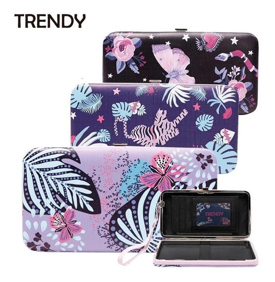 Billetera Porta Celular Mujer Trendy Importada 100% Original
