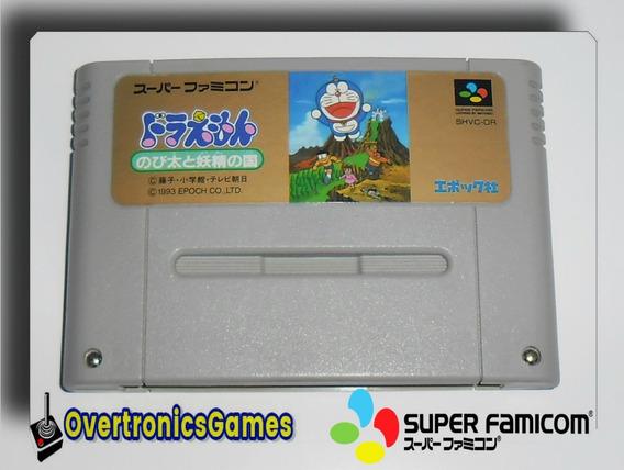 Jogo Doraemon Nobita To Yousei No Kuni Snes Frete10