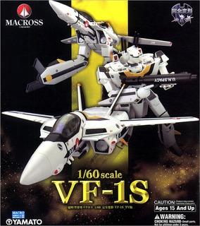 Macross Robotech Yamato 1/60 Vf-1s Roy Focker Tv Version