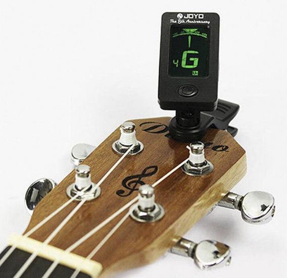 Afinador De Tono Guitarra Violín Bajo Cuatro Nuevo 10 Verdes