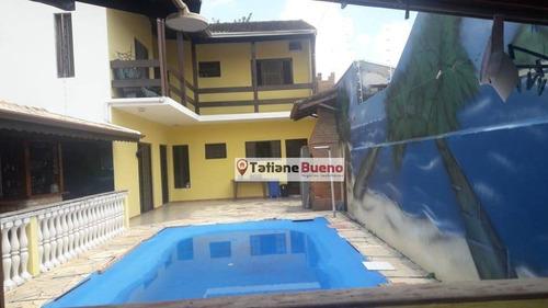 Sobrado Com 4 Dormitórios À Venda, 238 M² Por R$ 640.000 - Cidade Jardim - Jacareí/sp - So0235