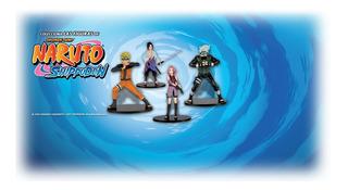 Coleccion Figuras Naruto- Planeta Agostini