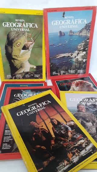 Coleção 7 Revistas Geografia Universal