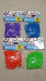 Elásticos Para Fazer Pulseiras - 4 Pacotes - 1.200 Elásticos