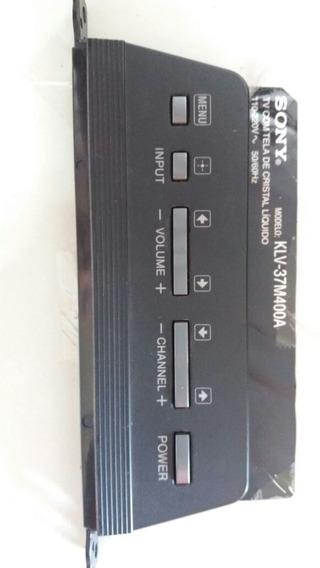 Placa Teclado Tv Sony Completa Klv-37m400a