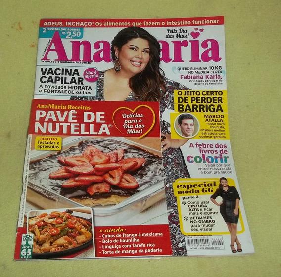 Lote 4 Revista Ana Maria -receitas Culinárias Frete Grátis