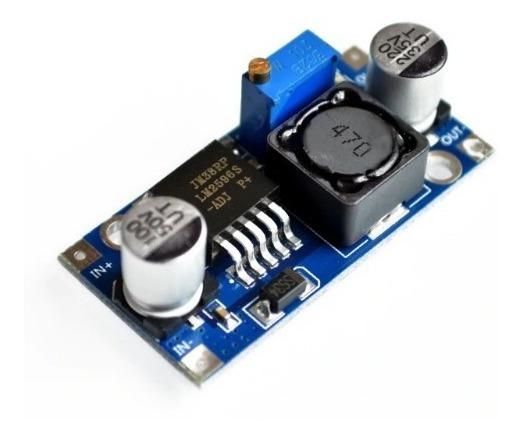 Regulador De Tensão Lm2596 Conversor Dc-dc Step Down Arduino