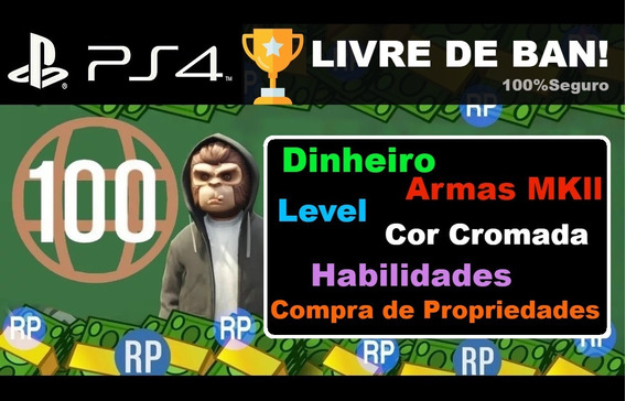 Upando Contas Gta V - Ps4