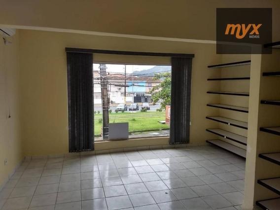 Sobrado Comercial Para Venda E Locação, Centro, São Vicente. - So0477