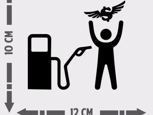 Imagem 1 de 2 de 4 Adesivo Automotivo Carro Rebaixados Gasolina Assalto