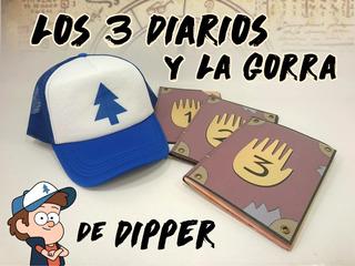 Diarios Gravity Falls Y La Gorra De Dipper Pines