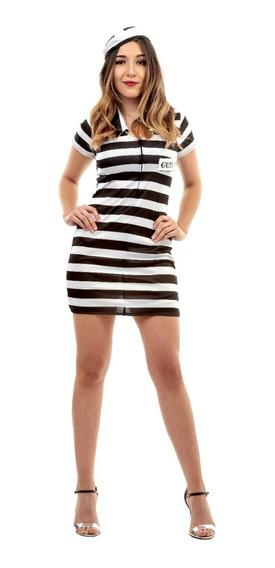 Disfraz Lady Prisionera Presa Adulto Halloween Latex