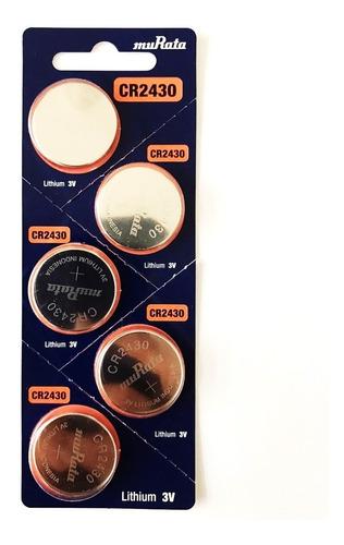 Pila Murata Cr2430 Voltaje 3v Pack X 5