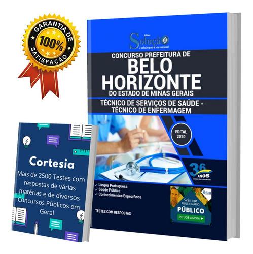 Apostila Belo Horizonte Mg - Técnico De Saúde - Enfermagem