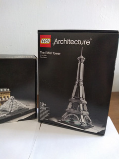 Lego Eiffel / Lego Louvre