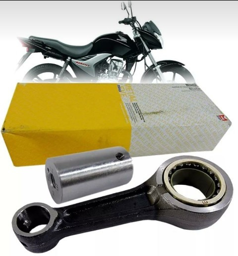 Biela Titan 150 2004 A 2015 Metal Leve Modelo Original