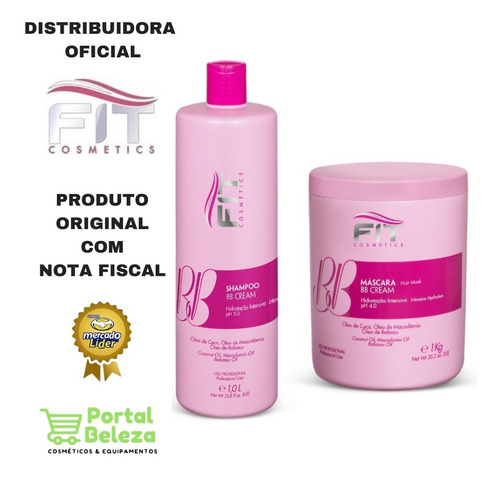Kit Tratamento Bb Cream 14 Em 1 - 2x1 Fit Cosmetics