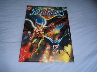 Super Homem Batman Liga Gaviao Negro De Joe Kubert Origen Hq