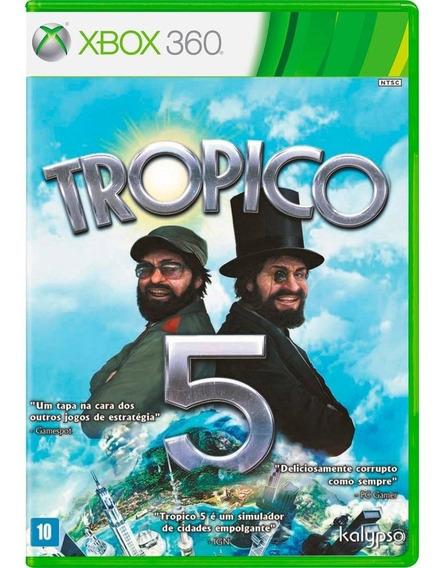 Tropico 5 Xbox 360 Mídia Física Novo Reembalado