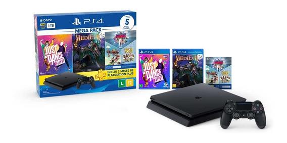 Console Sony Playstation 4 Slim Megapack Bundle V11
